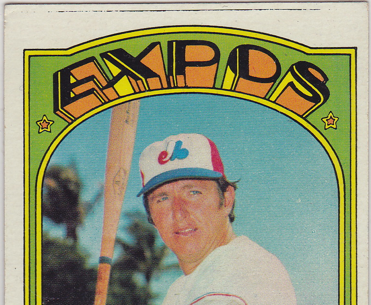Number 5 Type Collection 1972 Topps Baseball 5 John Bateman