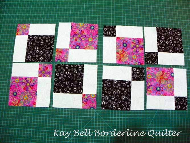 Borderline Quilter Disappearing Nine Patch Tutorial