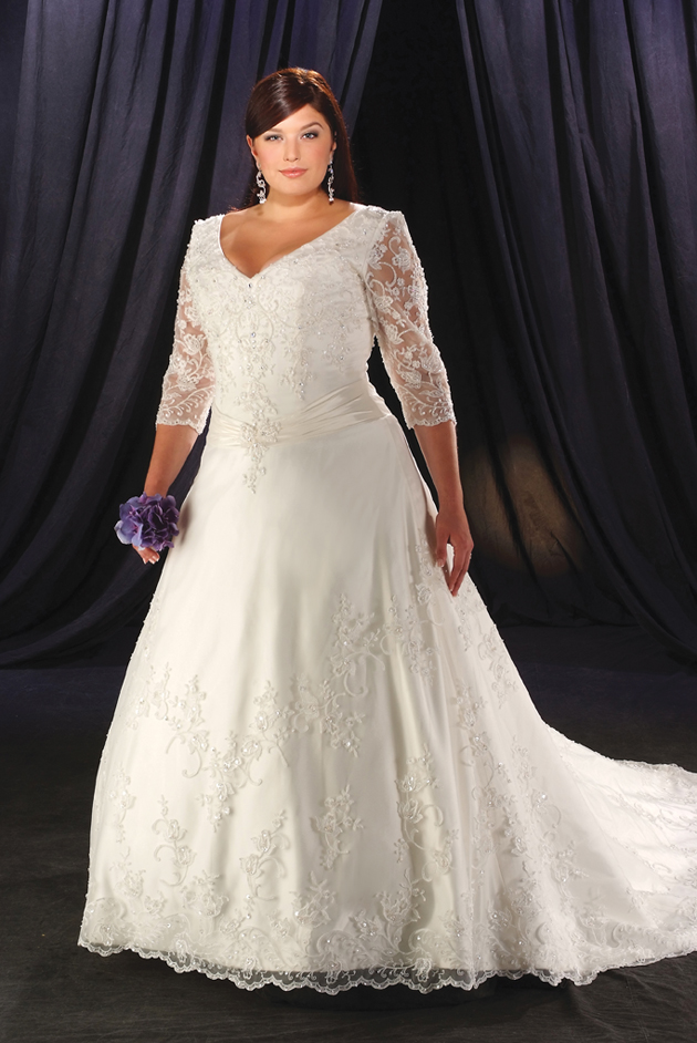 Special wedding gowns trendy plus size wedding dresses for Used plus size wedding dress