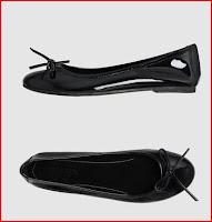 μπαλαρίνες μάύρο χρώμα GESTE PROPOSITION 84,00€