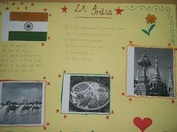MURAL CULTURA DE LA INDIA ALUMNOS ATAL IES ALBAYTAR NOVIEMBRE 2012
