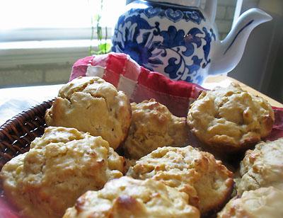 barley muffins