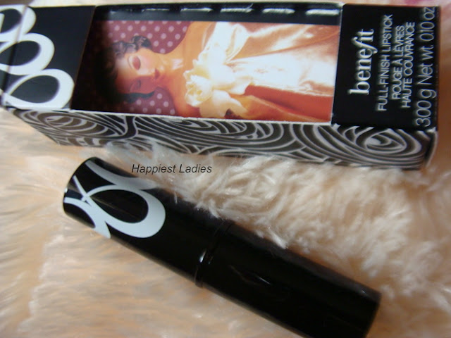 benefit FULL-FINISH LIPSTICK no competition review+benefits makeup