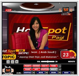 MIVO TV ONLINE TERBARU