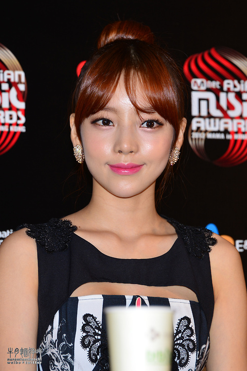 GOO HARA KARA 2012 MNET Asia Music Award Photo