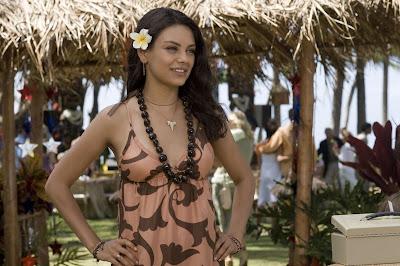 Glamorous Actress Mila Kunis Wallpaper