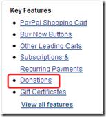 Add Paypal Donation ob blogger
