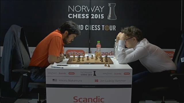 Norway Chess 2015. Hikaru Nakamura - Jon Ludvig Hammer