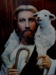 Imagem de Jesus, O Bom Pastor.