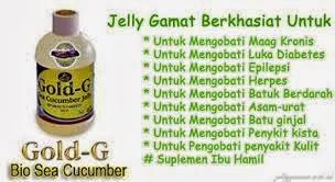 Harga Dan Cara Pemesanan Jelly Gamat Gold G
