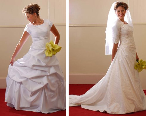 Modest Wedding Dresses In Logan Utah : Hair style and new fashion january