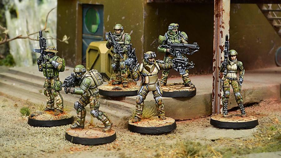 Wargame News And Terrain Corvus Belli New Infinity