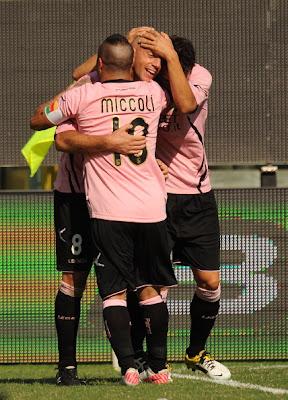 Palermo Siena 2-0 highlights sky