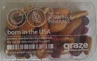 Graze snack - Born in the USA