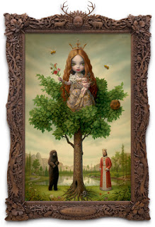 Árboles según Mark Ryden. Lowbrow. El árbol de la vida.