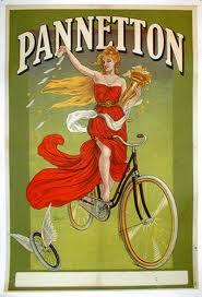 Pannetton vintage poster