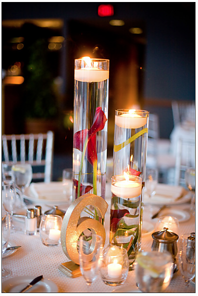 Adventures of a bride to be submerged flower centerpieces