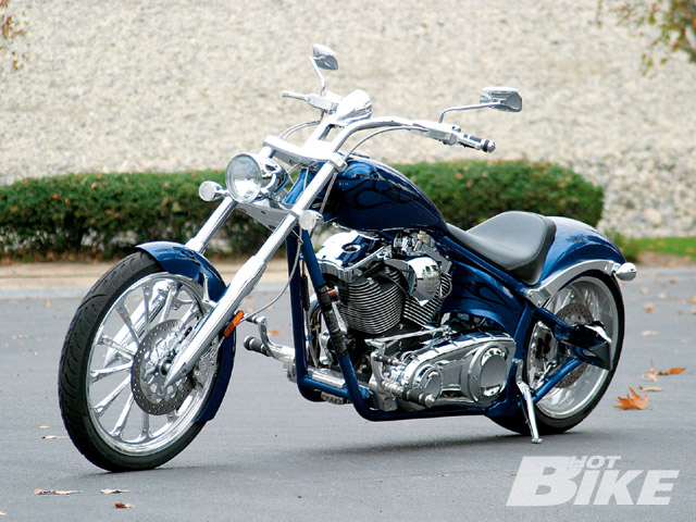 2009 Big Dog Motorcycles Coyote Road Test