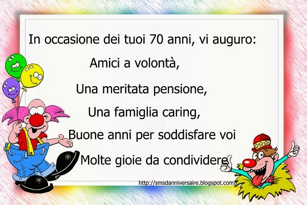 texte anniversaire en italien