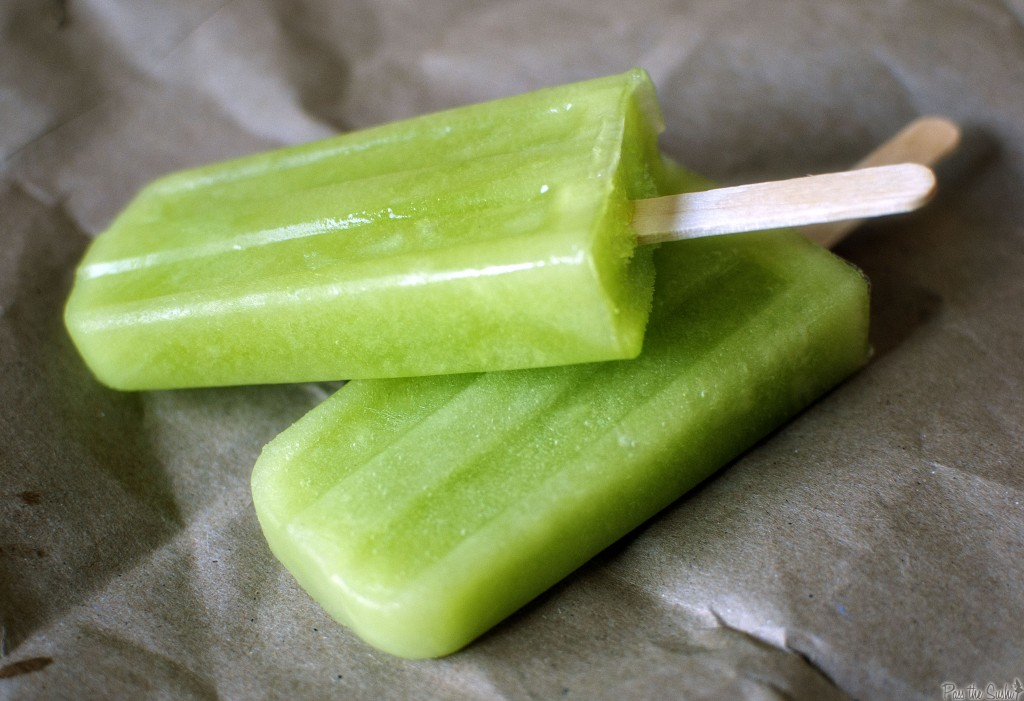 Honeydew Popsicles