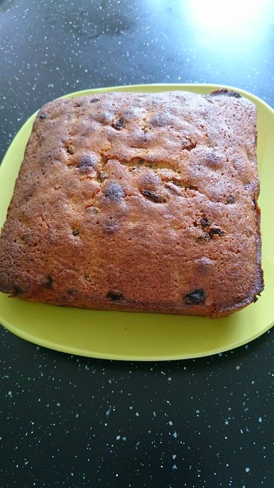 My Weekend Bake - Fruit and Nut Cake