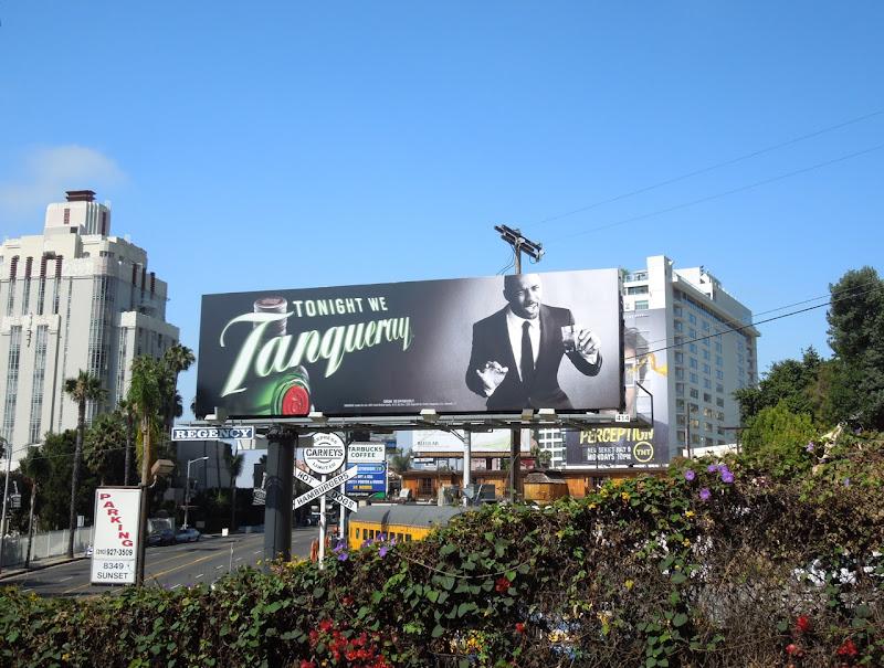 Idris Elba Tonight Tanqueray billboard