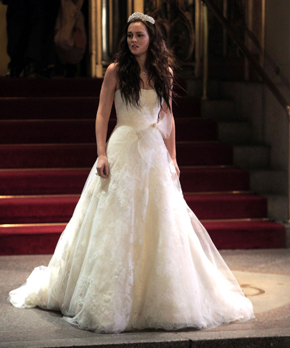 Kiss my wonder woman is blair waldorf a feminist gossip for Wedding dress blair waldorf