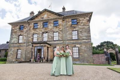 Bridesmaids at Ormesby Hall