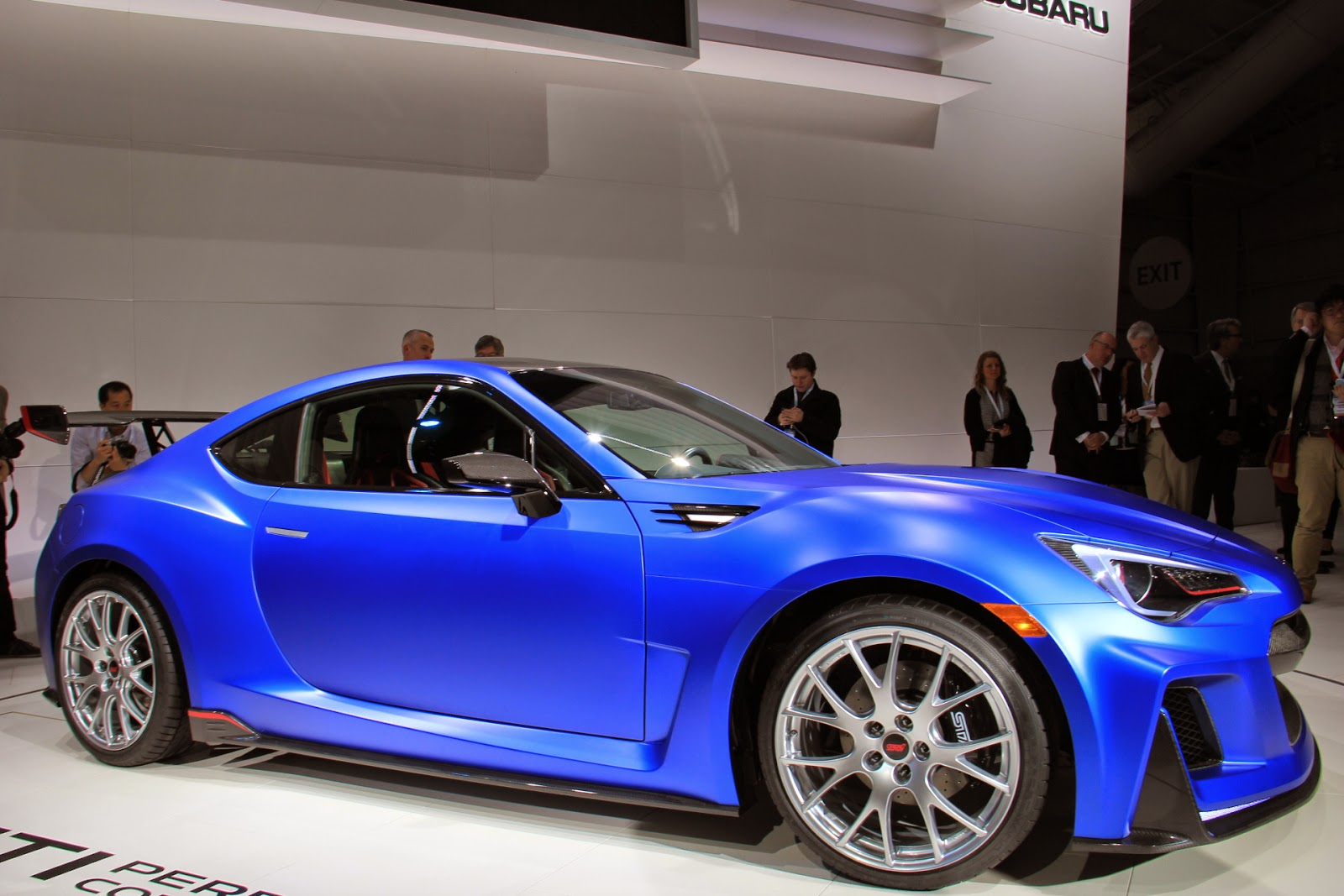 subaru brz sti performance concept is a rad track day special. Black Bedroom Furniture Sets. Home Design Ideas