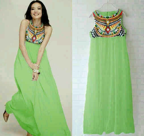 Maxi New Color Pyramid Green