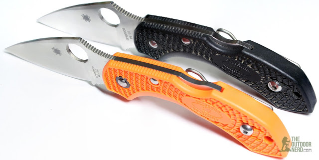 Spyderco Orange Dragonfly EDC Pocket Knife - Gallery 2