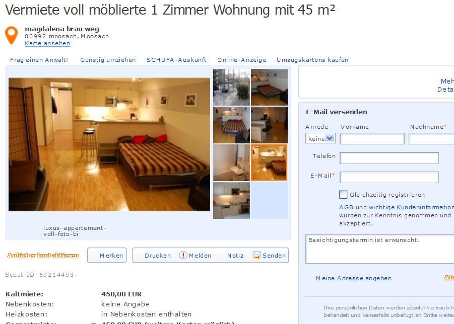 informationen ber wohnungsbetrug informations about rental scam seite 320. Black Bedroom Furniture Sets. Home Design Ideas