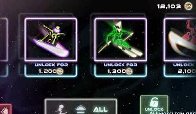 Neon ski Apk v1.0.6 (Unlocked ) Download