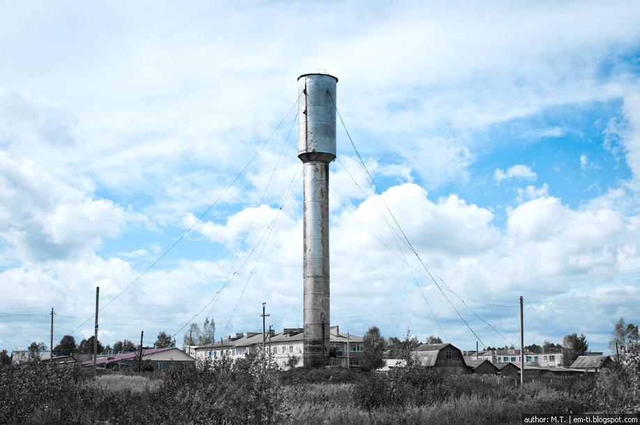 водокачка, фото, фотография, деревня, лето, water tower, photo, photography, village, summer