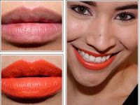 Lipstick Orange Neon Color