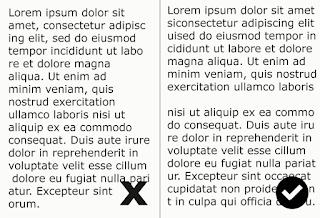 teknik perataan huruf per-paragraf