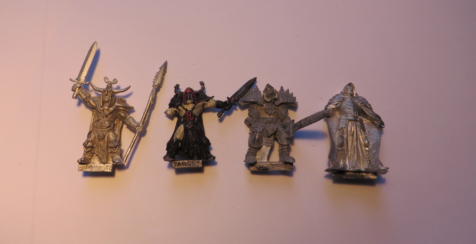 Target, Miniatures, Warriors, ebay