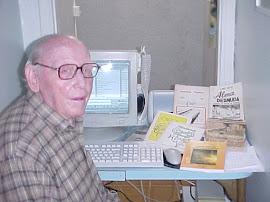Lino Vitti e seus vários livros