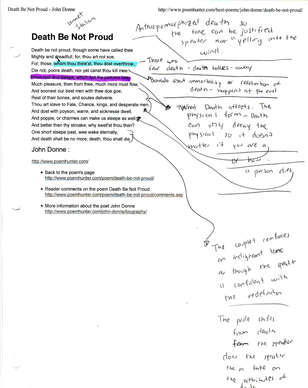 sonnet annotated gallery image gallery sonnet 18 annotated