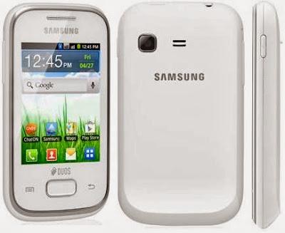 Instal BBM untuk android di handphone Samsung Galaxy Young Duos