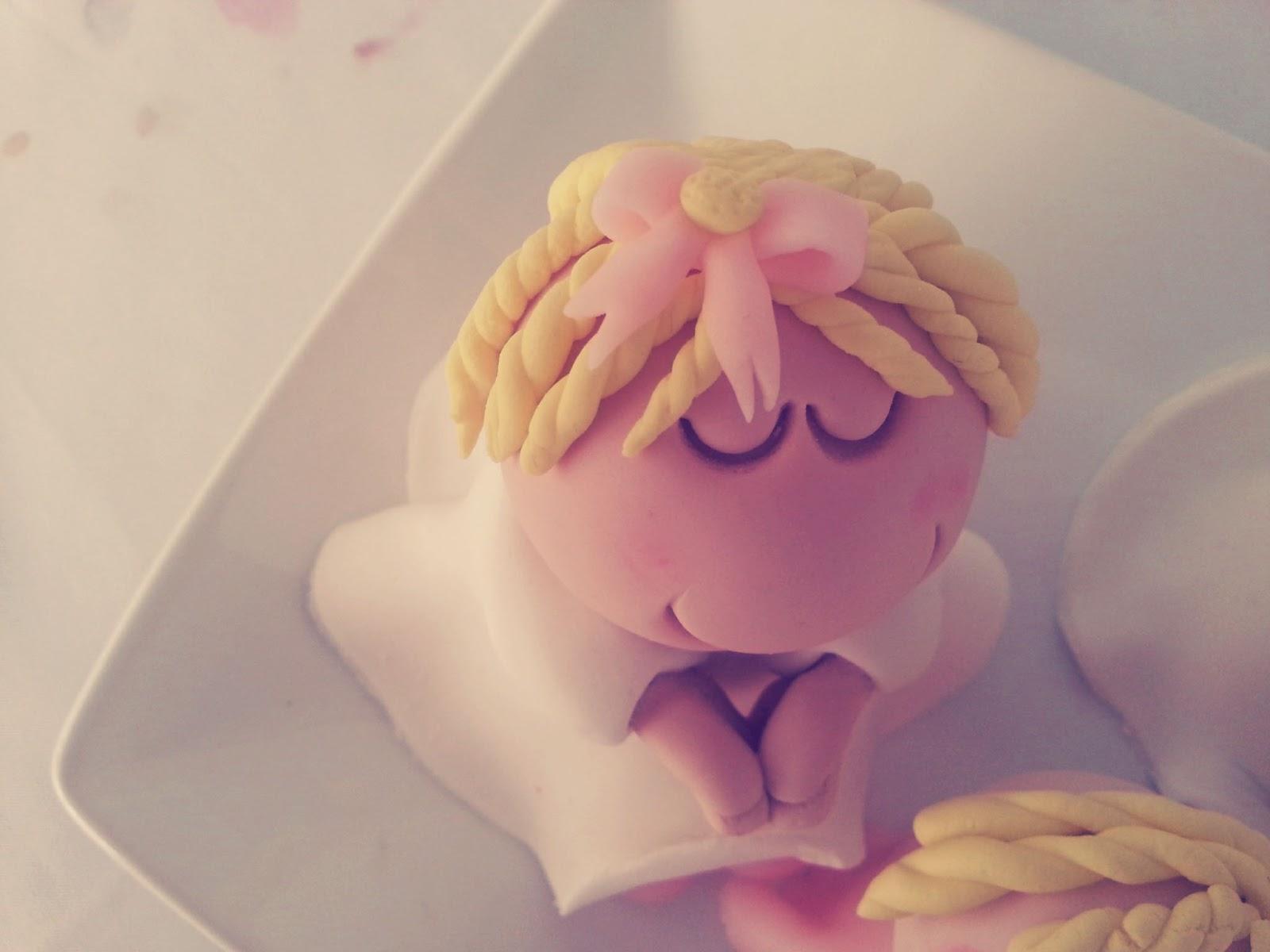 şeker hamurundan bebek