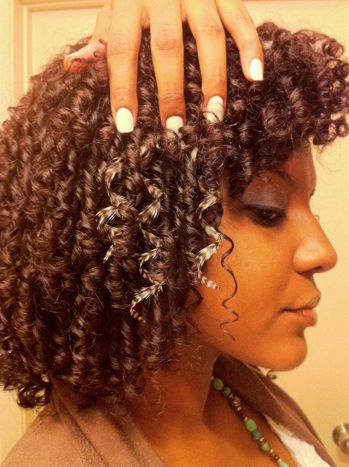 Extensions On Curly Hair 107