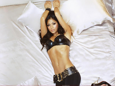 Nicole Scherzinger Hot Wallpaper in black