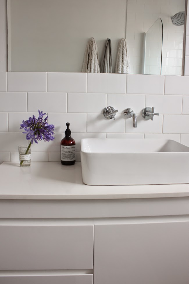 The happy home our bathroom renovation before and after for Bathroom renovation before and after
