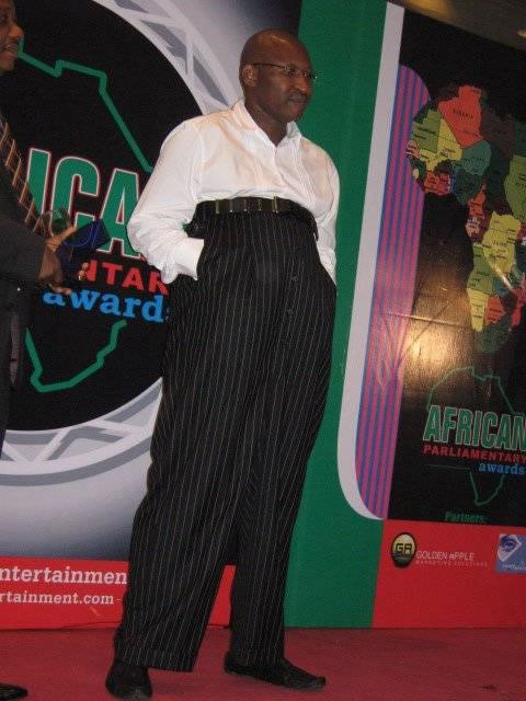 Obahiagbon in his long wide pants