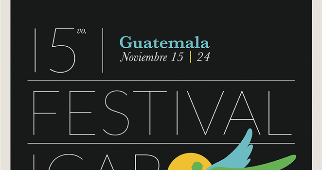 Programación del XV Festival Ícaro de Cine en Centroamérica 2012