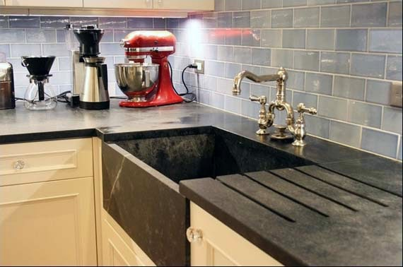 Comparing Countertop Materials For Kitchens : ... soapstone countertop stainless steel countertop material cost another