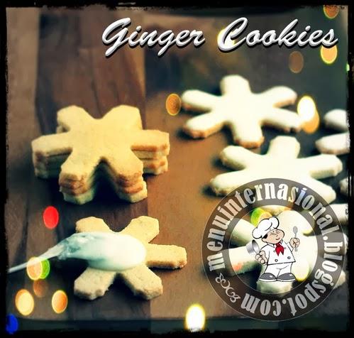 Cara Membuat Kue Kering Ginger Cookies Renyah dan Mantap