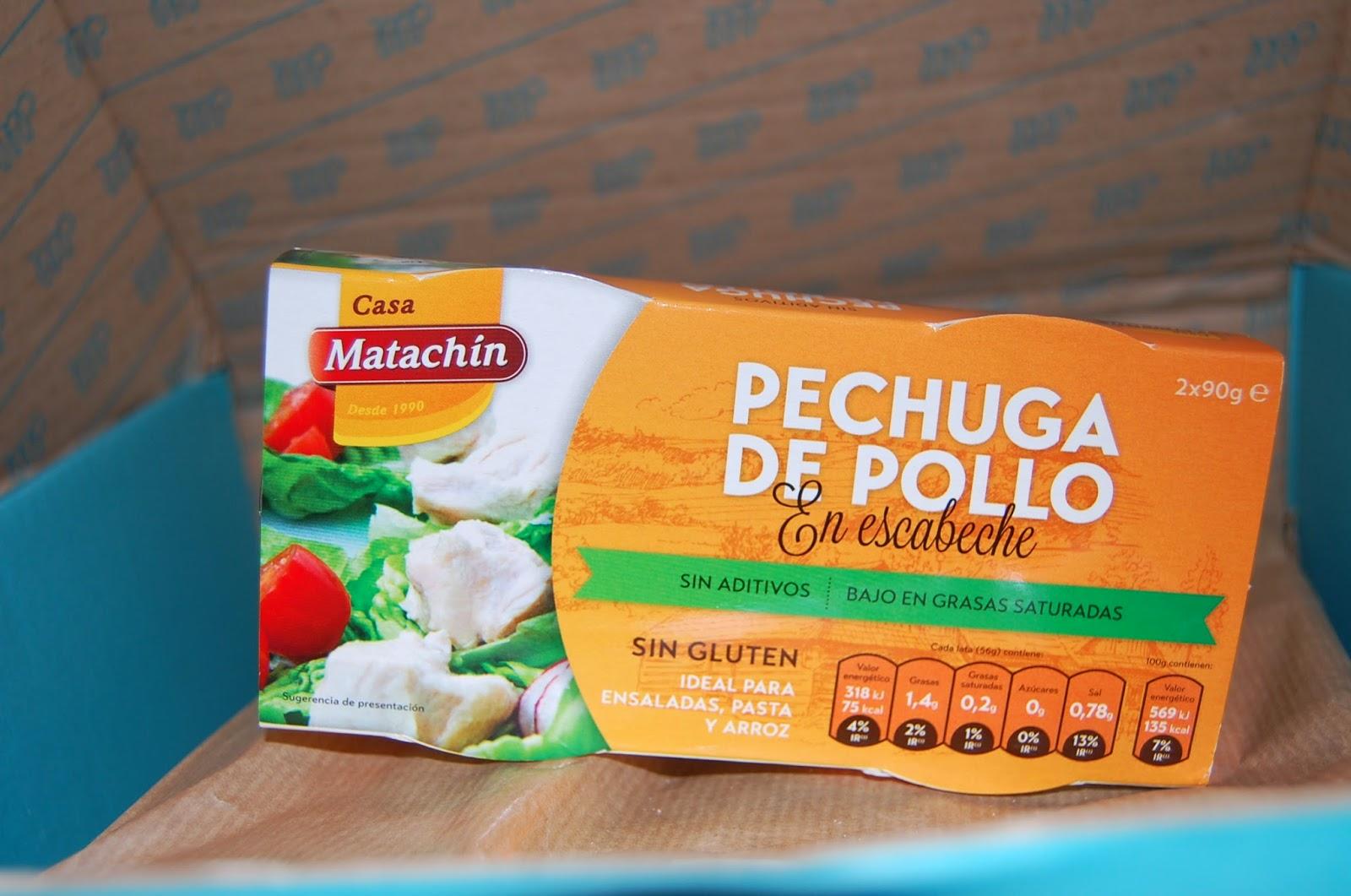 POLLO EN ESCABECHE CASA MATACHÍN - MUESTRAS PREMIUM ABRIL 2014