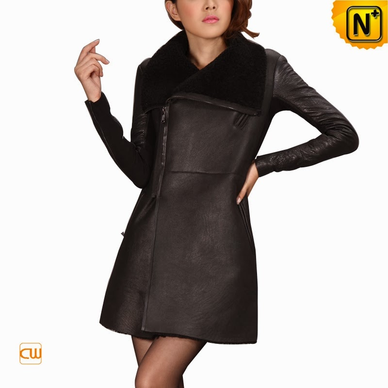 Women Black Fur Coat